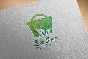 Plant / Leaf / Shop - Logo