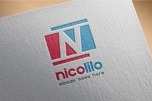 N letter - logo