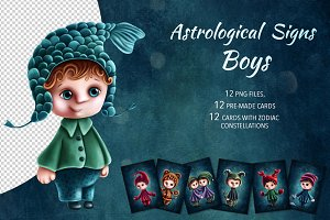 Astrological Signs Boys