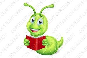 Bookworm Caterpillar Worm Reading