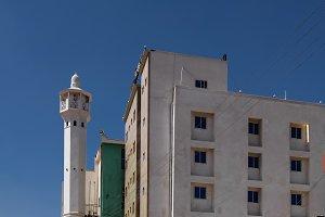 Mosque in Hargeisa, biggest city of Somaliland- 11.01.2016 Somalia