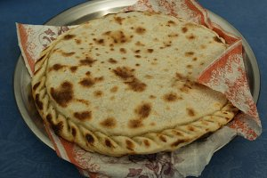 Chapshuro the most delicious dish of Gilgit Baltistan , Pakistan