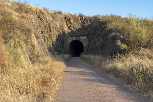 Entrada al tunel