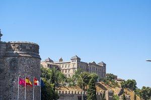 entrance to Toledo in Spain