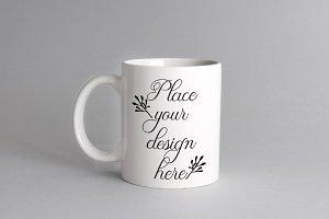 White coffee cup mockup mug mock up