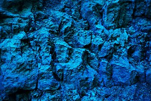Blue Metallic Background and Texture