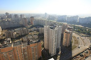 Kiev urban view, Ukraine