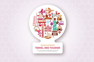 Travel and Tourism vector artwork