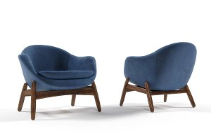 Lounge armchair by Kofod-Larsen