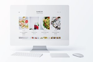 Sabor ~ Foodie Genesis Child Theme