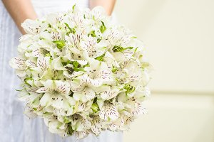 Bridal summer bouquet