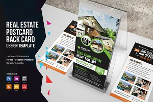 Real Estate Postcard & Rackcard v2
