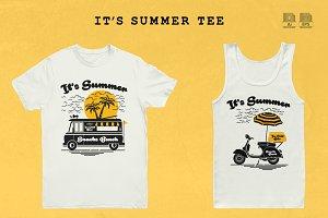 It's Summer Tee