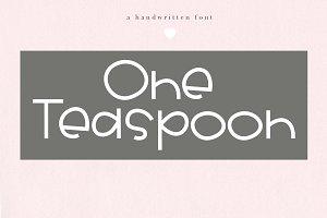 One Teaspoon - Bold Handwritten Font