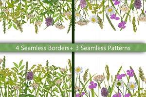 Field Herb Seamless Set