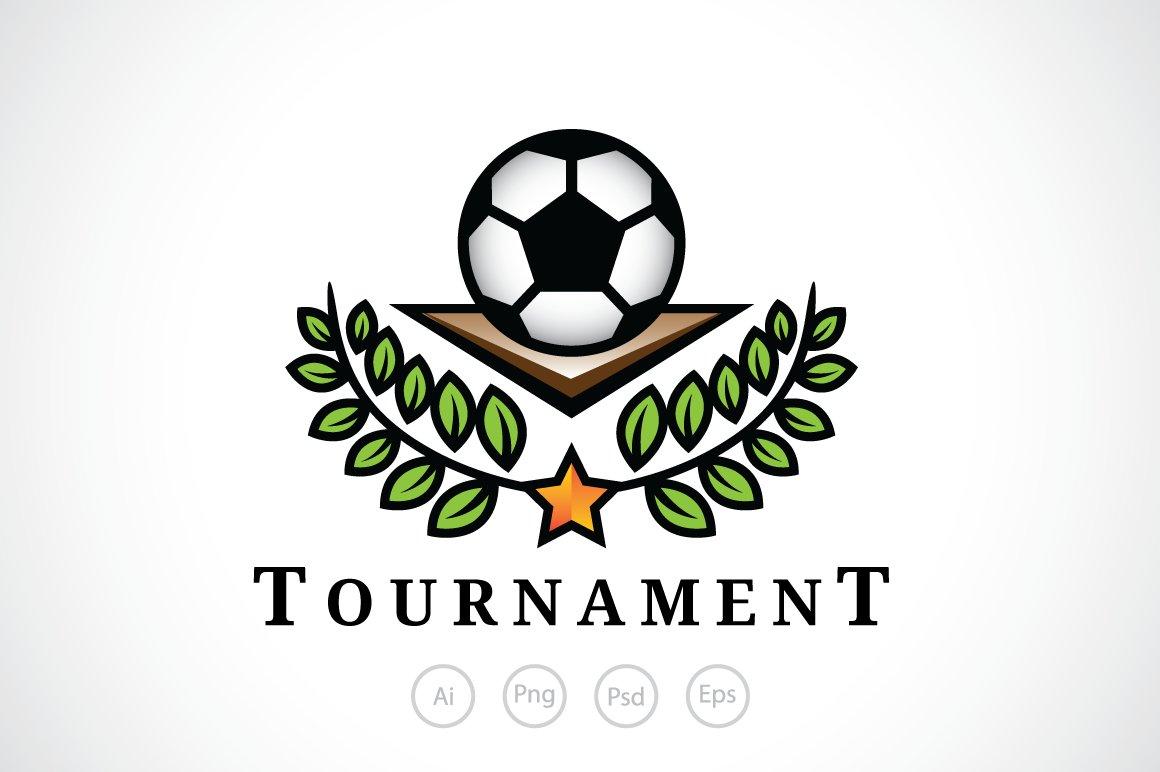 Football Tournament Logo Template ~ Logo Templates