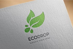 Ecology Drop - Logo