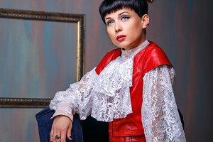 Frenchwoman vintage dress
