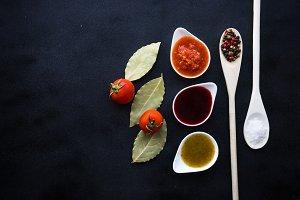 Georgian cuisine concept