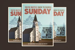 Church Event Flyer Poster
