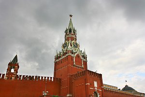 View on Kremlin. Moscow, Russia