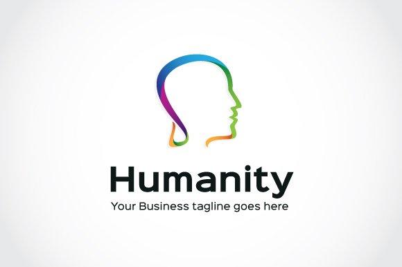 humanity logo template logo templates creative market