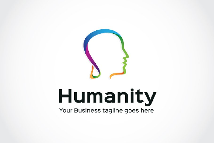 Humanity Logo Template in Logo Templates