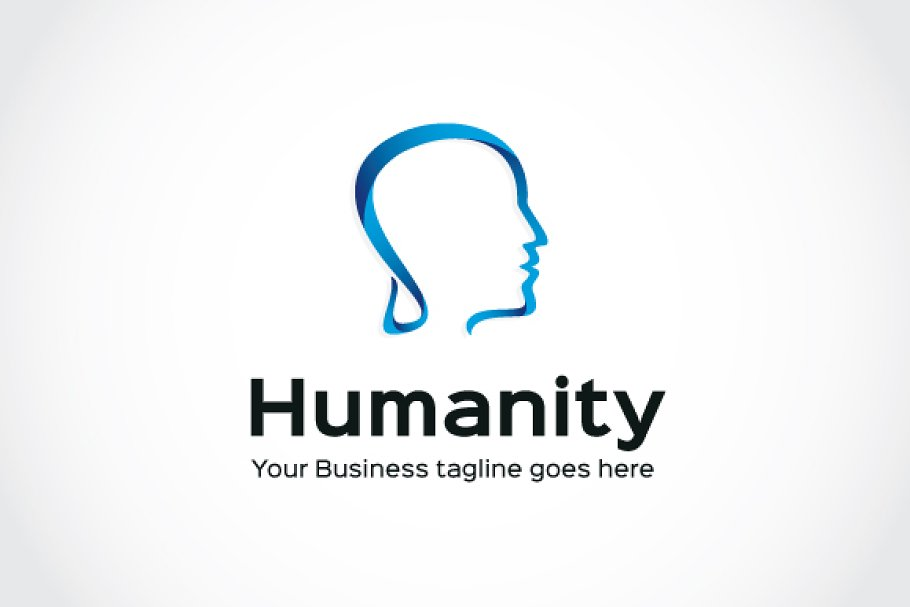 Humanity Logo Template in Logo Templates - product preview 1