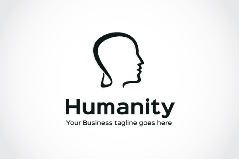 Humanity Logo Template in Logo Templates - product preview 4