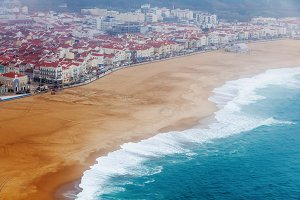 Nazare coast, Portugal