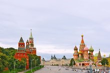 Red Square. Moscow, Russia