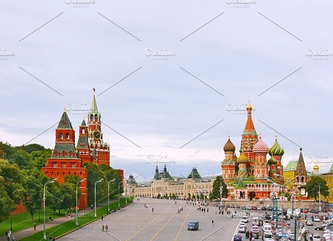 Red Square. Moscow, Russia - Architecture