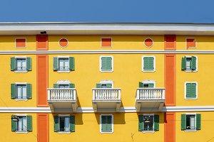 Colourful Italian Facade