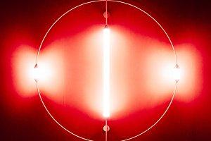 Fluorescent designer light