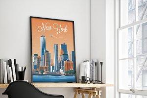 Traveler Poster / New York City
