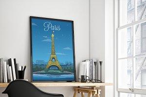 Traveler Poster / Paris