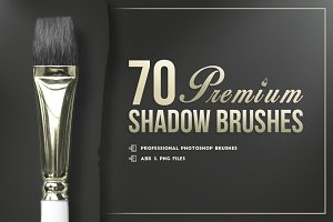 70 Premium Photoshop Shadows Brushes