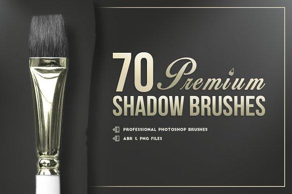 70 Premium Photoshop Shadows Brushes