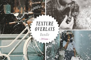 250 Texture Overlays Bundle