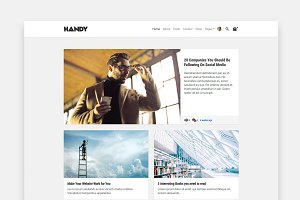 Handy - Wordpress Blog & Shop Theme