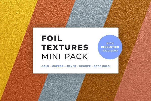 Textures: Bulbfish Design - Foil Textures Mini Pack