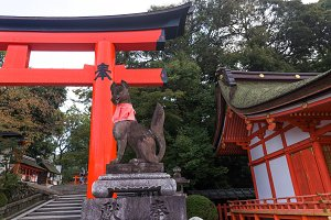 Japanese landmarks in Kyoto