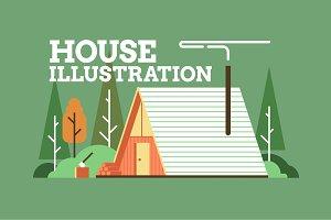 House Illustration Pack