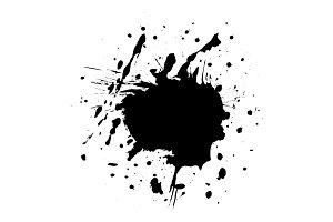 Blot black