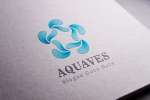 Crycle Aqua / Water / Sea - Logo