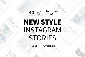New Style Instagram Stories