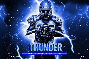 Thunder Photoshop Action