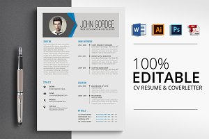 Job CV Resume Word Format