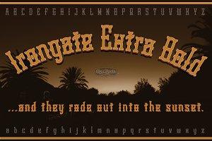 Irongate Extra Bold