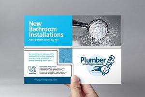 Plumber Business Card Template Templates Creative